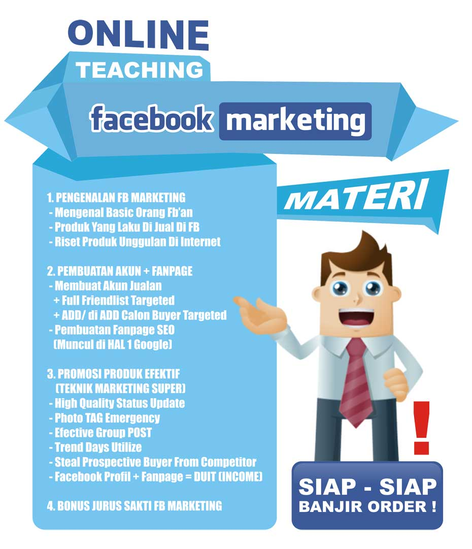 Seminar Pelatihan Workshop Facebook Online
